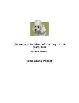 The Curious Incident of the Dog in the Night-Time Reading Activities
