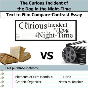 The Curious Incident of the Dog in the Night-Time - Text to Film Essay Bundle