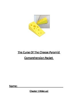 Geronimo Stilton The Curse Of The Cheese Pyramid Comprehension Packet