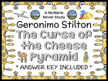 The Curse of the Cheese Pyramid (Geronimo Stilton) Novel Study / Comprehension