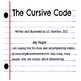 The Cursive Code - Learn the art of handwriting with video BONUS!