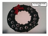The Cutest Holiday Wreath Project, Ever! art project wreat
