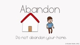 The Cutest Vocabulary Video - abandon