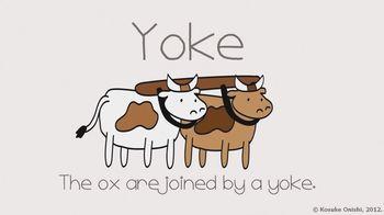 The Cutest Vocabulary Video - yoke