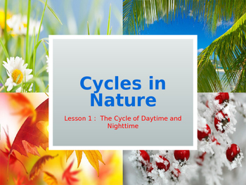 The Cycle of Daytime and Nighttime