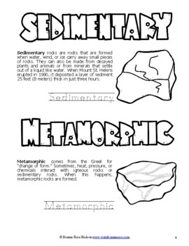 Discovering Rocks, Minerals, & Crystals-Learning About Science Level 3 Print