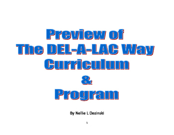 The DEL-A-LAC Way's Preview