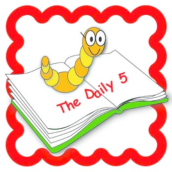 The Daily 5- Bookworm Printable Sign Set