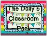 The Daily 5 Classroom Pack