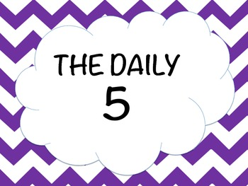 The Daily 5 Pack