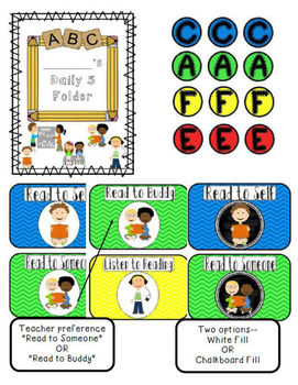 The Daily Cafe Schedules, Posters, and {Kindergarten} Cafe Strategies