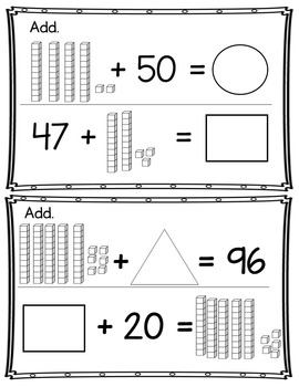"""The """"Daily Do"""" Quick Check 1st Grade Numbers & Operations Base Ten NBT 4"""