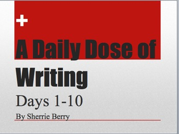 The Daily Dose of Writing