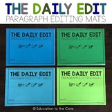 The Daily Edit: 180 Paragraph Editing Mats for 1st Grade