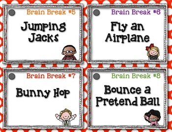 The Daily Five {Brain Breaks}