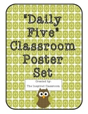 The Daily Five Owl Classroom Poster Set
