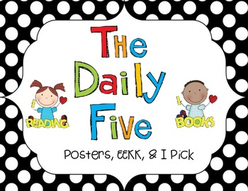 The Daily Five Posters {freebie}