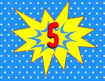 The Daily Five-Super hero art