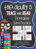 The Daily Five Trace and Read Printable Mini Books