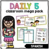 The Daily 5 Classroom Mega Pack (Spanish)