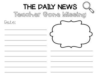 The Daily News- Teacher Gone Missing