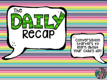 The Daily Recap (Conversation Starters)