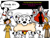 The Dalmatians Clip Art Pack