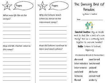 The Dancing Bird of Paradise Trifold - Open Court 3rd Grade Unit 3 Lesson 5