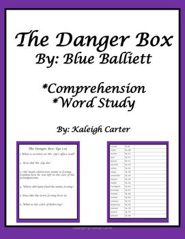 The Danger Box Novel Study