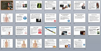 The Dangers of Smoking - PowerPoint Inquiry Lesson