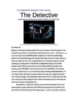 The Dark Knight Hero Study Unit