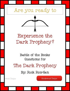 The Dark Prophecy Battle of the Books Questions