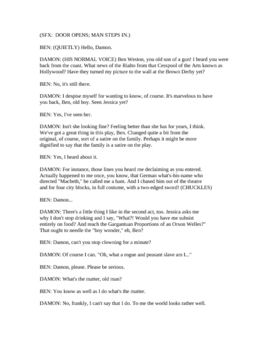 Drama - The Dark Tower - A Thespian Murder Mystery!