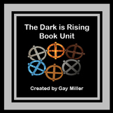 The Dark is Rising Novel Study: vocabulary, comprehension, writing, skills