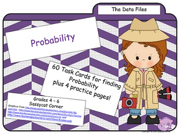 The Data Files - Probability Task Cards
