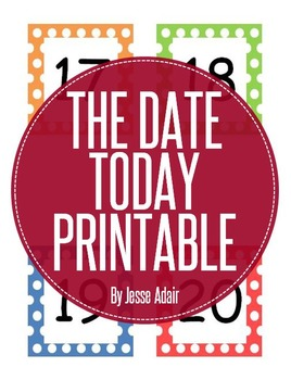 The Date Today Printable