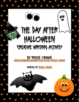 Free Download Halloween Creative Writing Activity