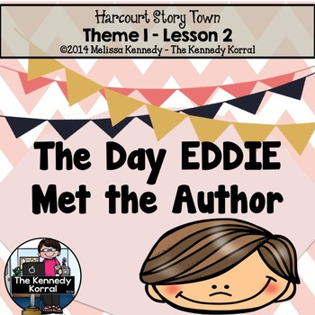 StoryTown Lesson 2 {The Day Eddie Met the Author - 3rd Grade}