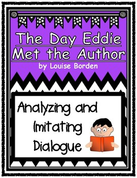 The Day Eddie Met the Author Imitating Dialogue Using Mentor Sentences