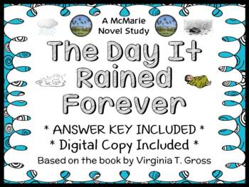 The Day It Rained Forever (Virginia Gross) Novel Study / C