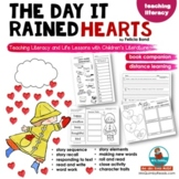The Day It Rained Hearts | Book Companion | Writing Prompts | Distance Learning