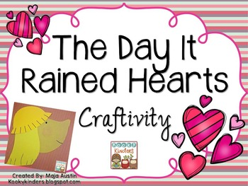 The Day It Rained Hearts Craftivity