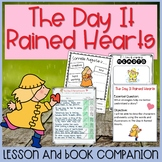 The Day It Rained Hearts Lesson Plan and Book Companion - Distance Learning