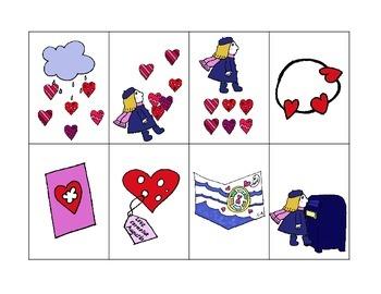 The Day It Rained Hearts - Mini Speech and Language Companion