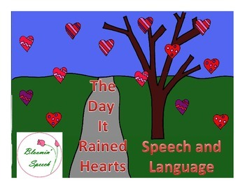 The Day It Rained Hearts - Mini Speech and Language Companion