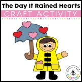 The Day It Rained Hearts Craft | Valentines Day Craft | Book Activities