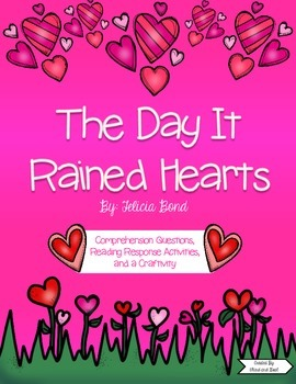 The Day It Rained Hearts Reading Pack and Craft