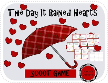 The Day It Rained Hearts SCOOT GAME