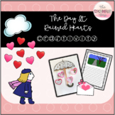 The Day It Rained Hearts Writing Craftivity
