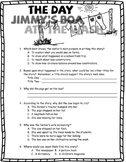 The Day Jimmy's Boa Ate the Wash - Test Set & Bonus Book Report